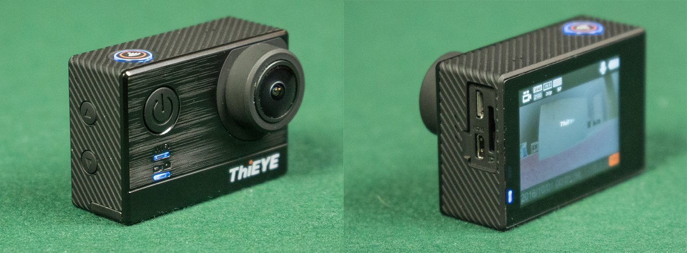 ThiEYE T5 - Front & Back