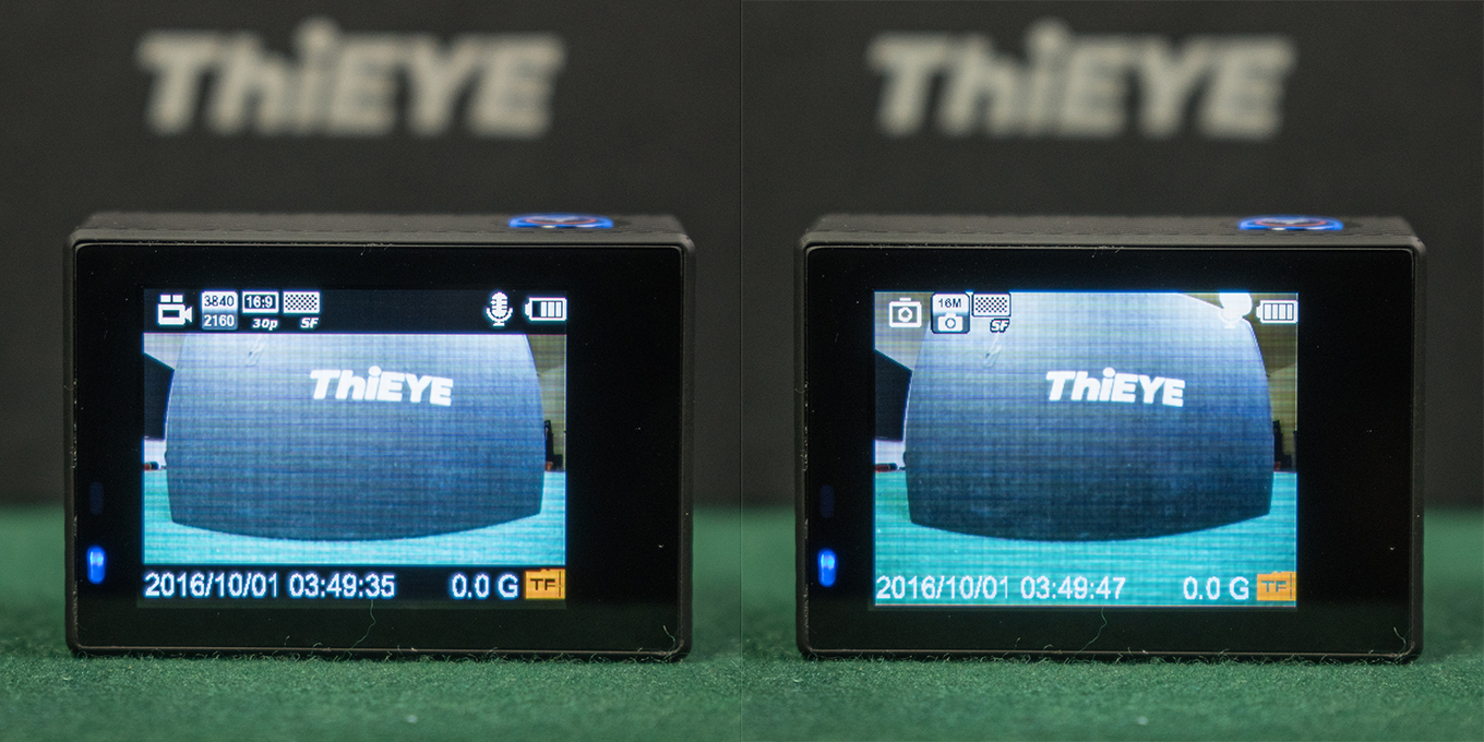 ThiEYE T5 - Video Mode - Photo Mode