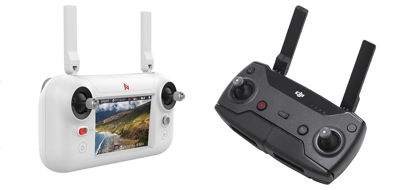 Xiaomi FIMI A3 drone vs DJI Spark - Controller