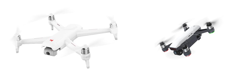 Xiaomi FIMI A3 drone vs DJI Spark