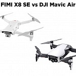 FIMI X8 SE vs DJI Mavic Air
