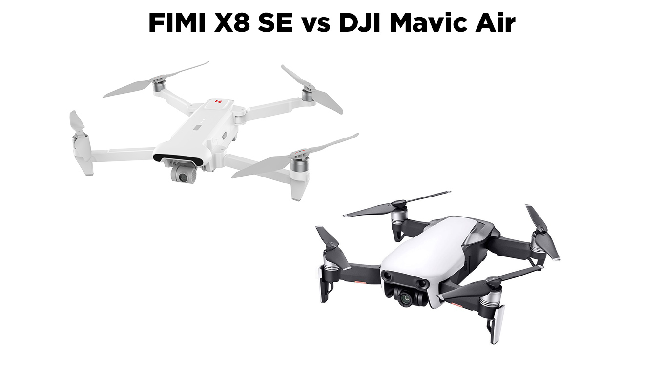 FIMI X8 SE vs DJI Mavic Air - el Producente