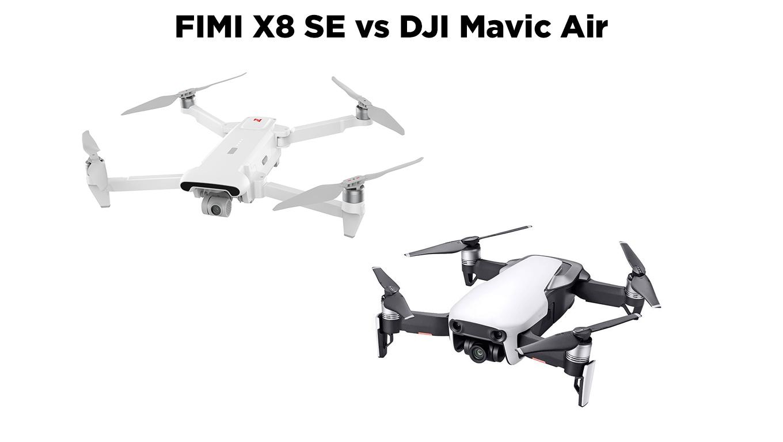 Fimi X8 Se Vs Dji Mavic Air El Producente