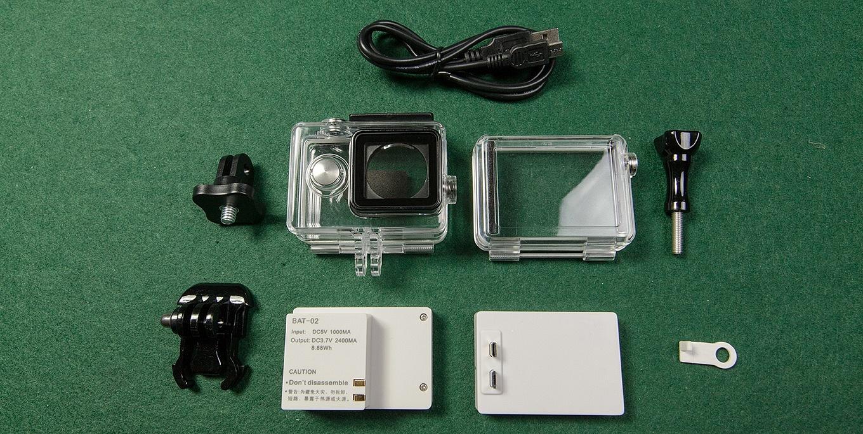 Xiaomi Yi LCD screen & battery backpack set