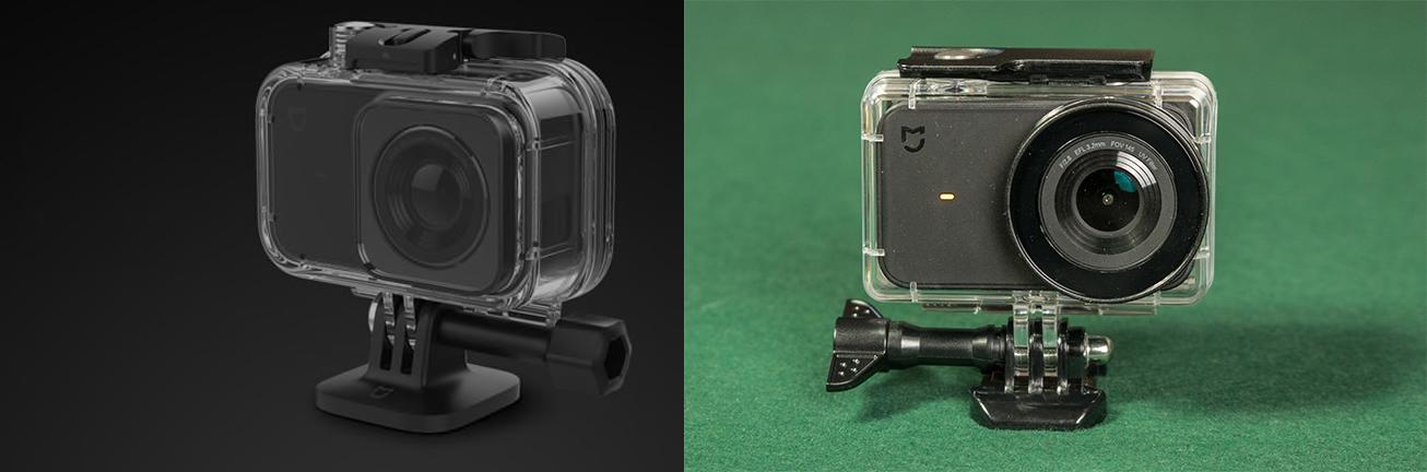 Xiaomi Mijia Underwater Case vs 3rd Party Case