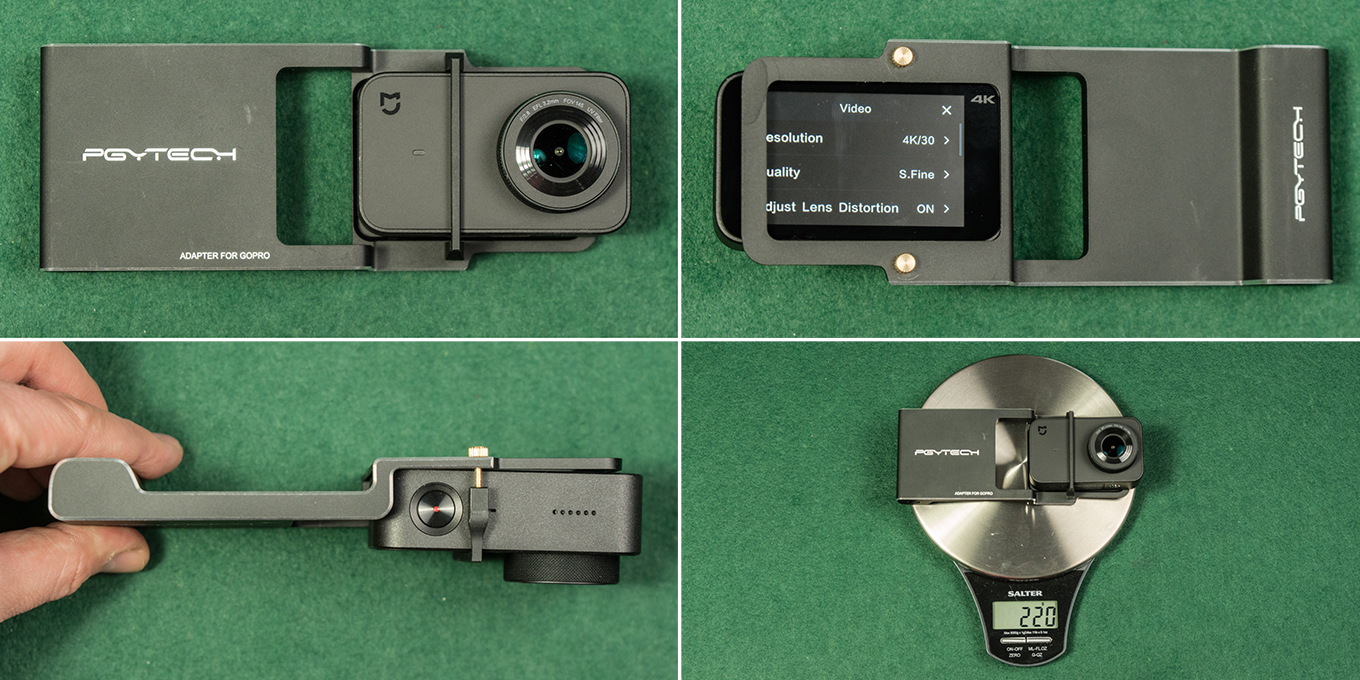Xiaomi Mijia Action Camera with Gimbal Adapter