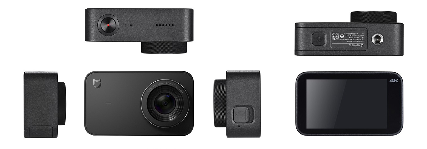 Xiaomi Mijia Action Camera - All sides
