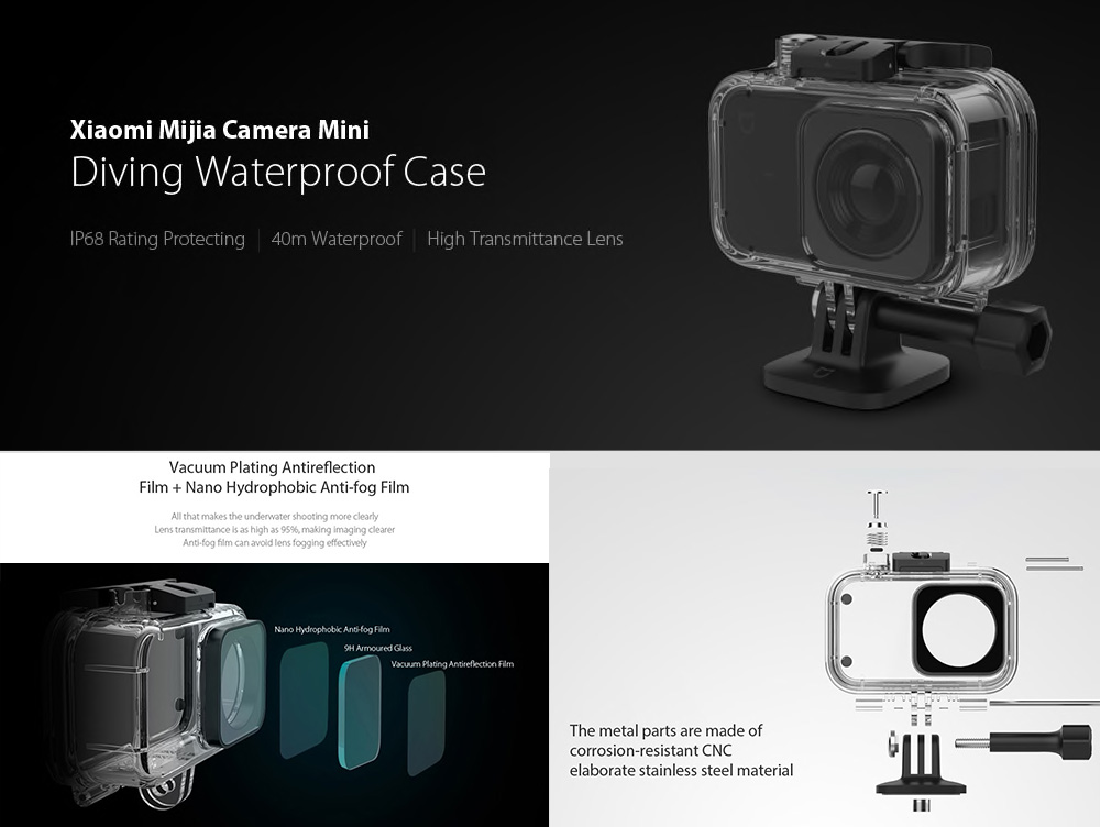 Xiaomi Mijia - official underwater case