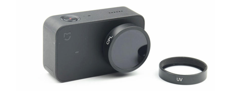 Xiaomi Mijia Action Camera Filter: UV & CPL