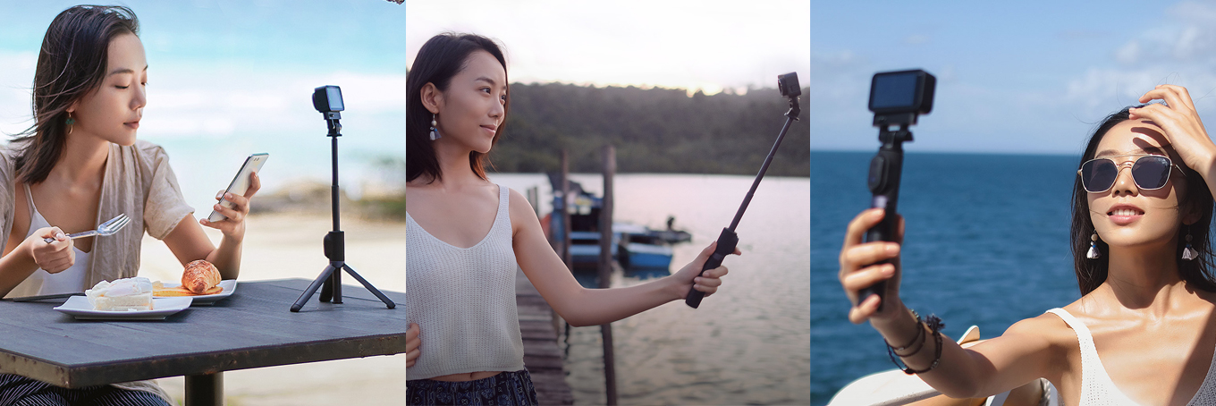 Xiaomi Mijia Action Camera - Selfie Stick / Tripod / Bluetooth Remote Controller