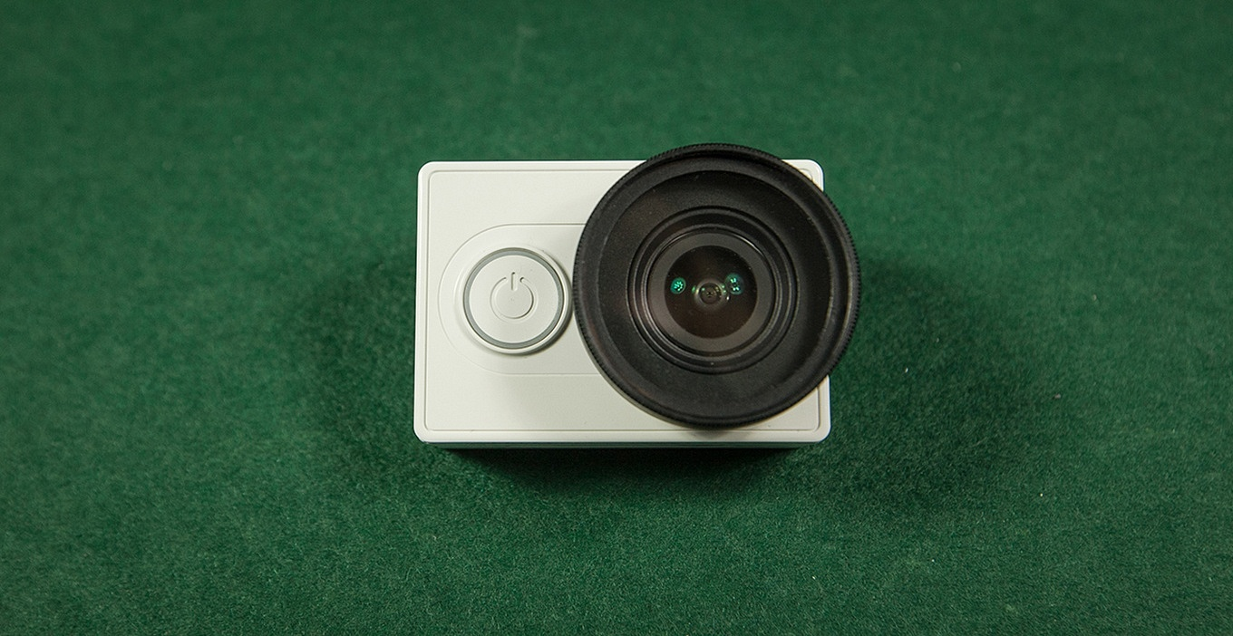 Xiaomi Yi with 37mm Filter Adapter & UF Filter