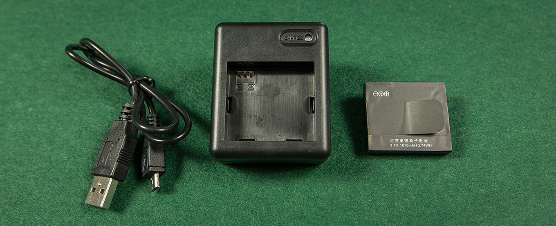 Xiaomi Yi Charger & Battery
