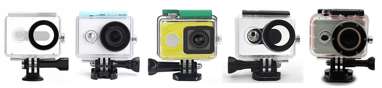 Xiaomi Yi Underwater Cases