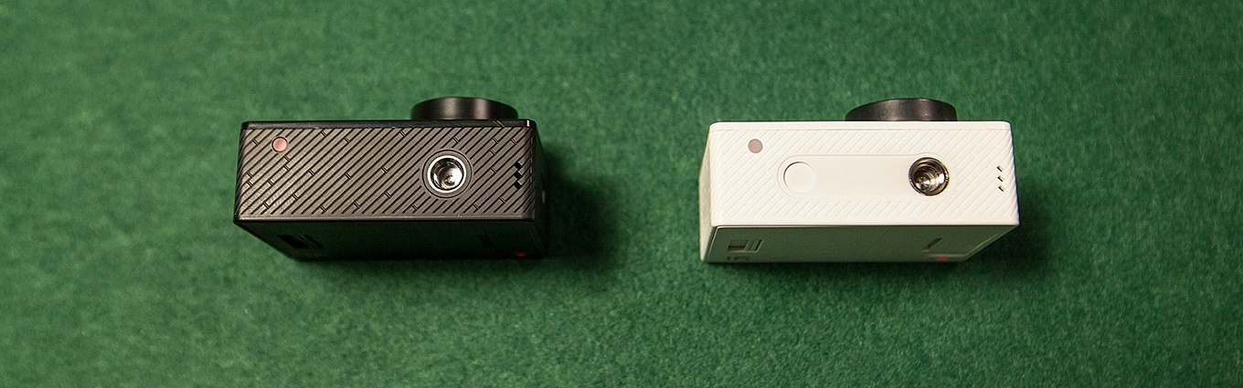 Yi Action Camera International Version vs Chinese Version - Bottom