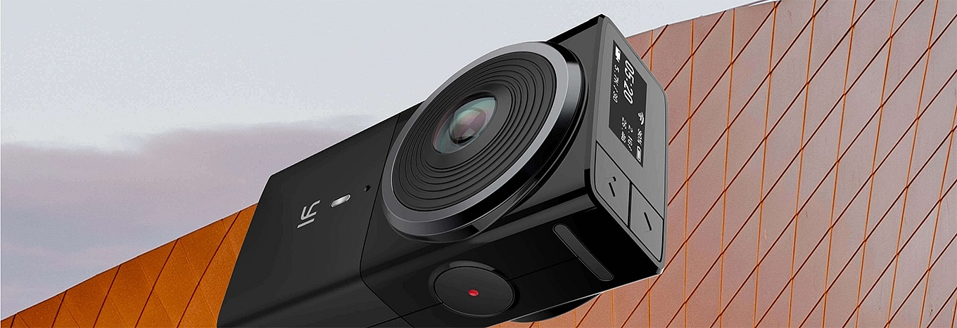 YI 360 VR Camera - Display and Buttons