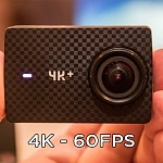 YI 4K+ Action Camera – 4K 60fps – Announced