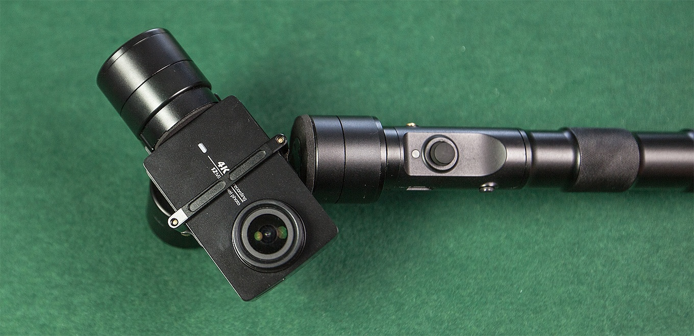 YI 4K Action Camera 2 & Zhiyun Z1-Evolution Gimbal