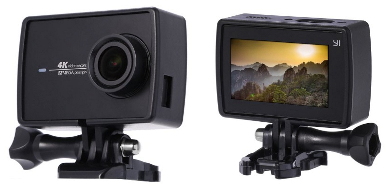 YI 4K Action Camera - Plastic Frame