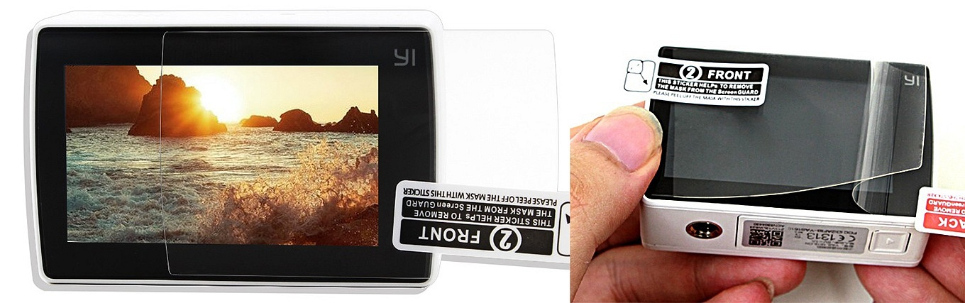 YI 4K Action Camera - Screen Protection Film