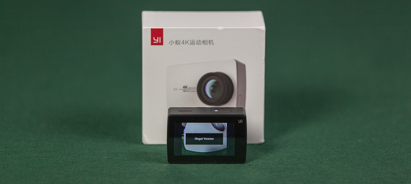 Yi 4k Chinese Version Vs International El Producente Xiaomi 2 Ver Action Camera Black Illegal