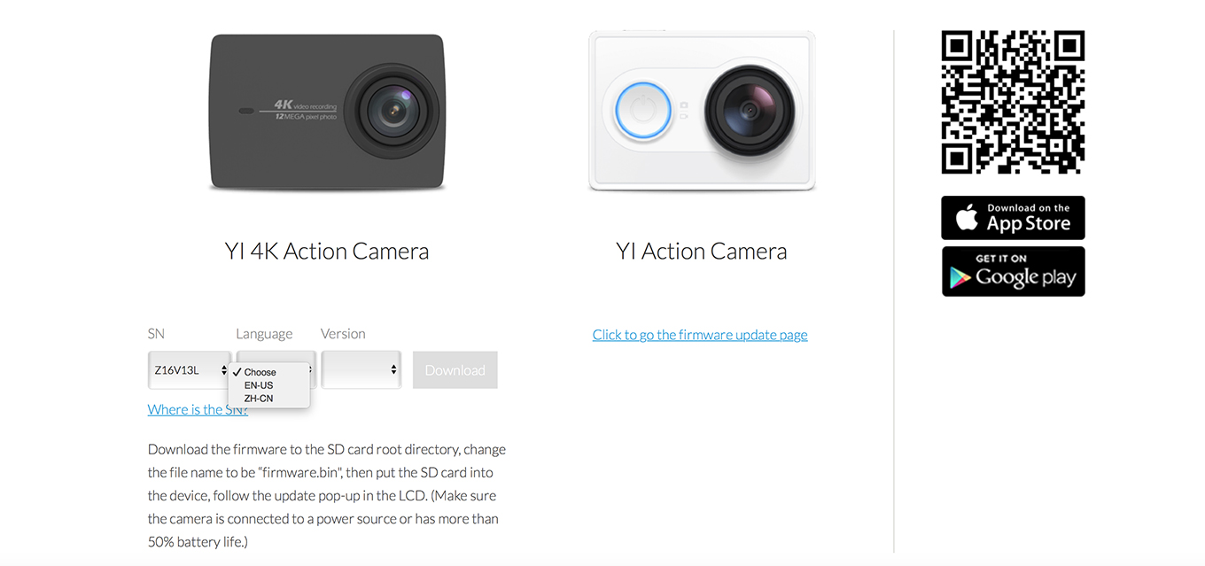 Yi 4k Chinese Version Vs International El Producente Xiaomi 2 Ver Action Camera Black Firmware Download