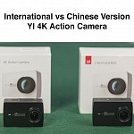 YI 4K Chinese Version vs International Version