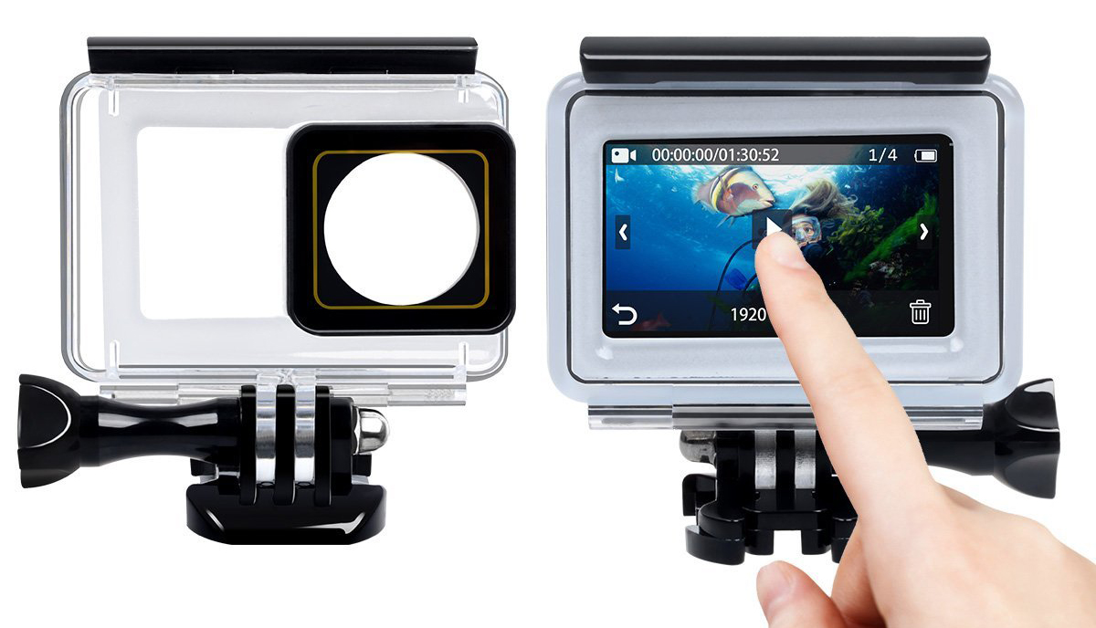 YI 4K Action Camera - Touch Underwater Case