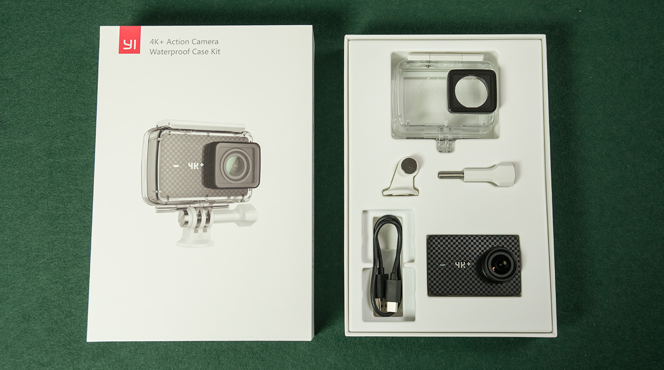 YI 4K+ Action Camera - Waterproof Case Set