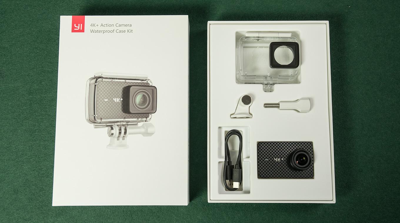 YI 4K+ Action Camera - Waterproof Case Set
