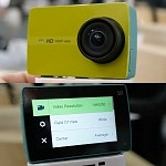 YI HD Action Camera – 1080p camera using YI 4K body