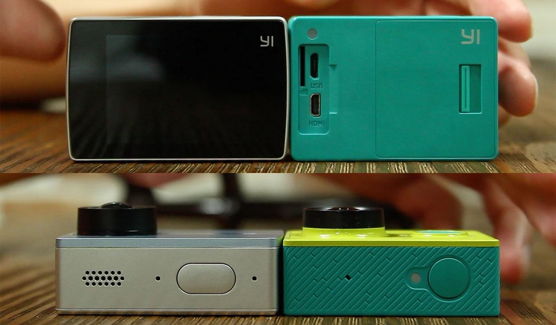 YI Lite compared to original YI (YI 2K or Xiaomi YI)