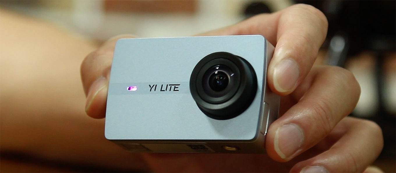YI Lite Action Camera - Front Side