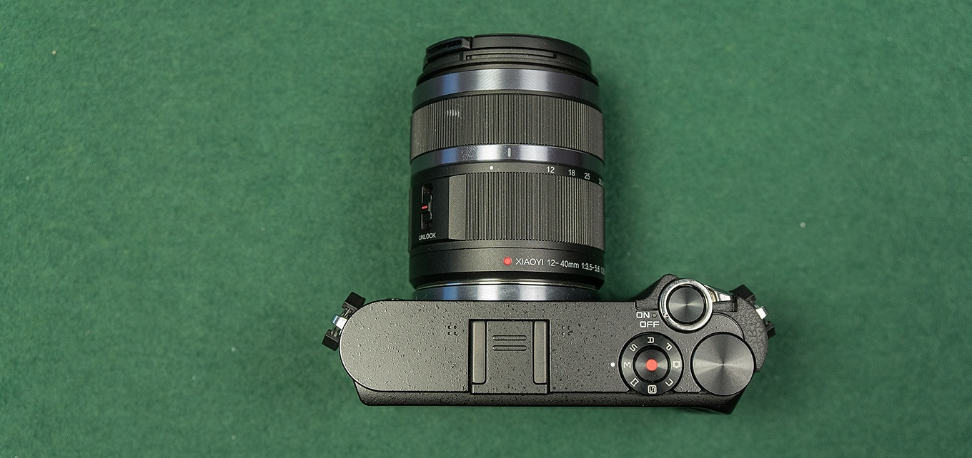 YI M1 - top view