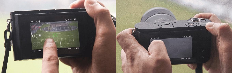 YI M1 Mirrorless Camera - Touch Screen