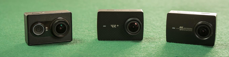 The YI Family: YI Action Camera - YI 4K+ - YI 4K