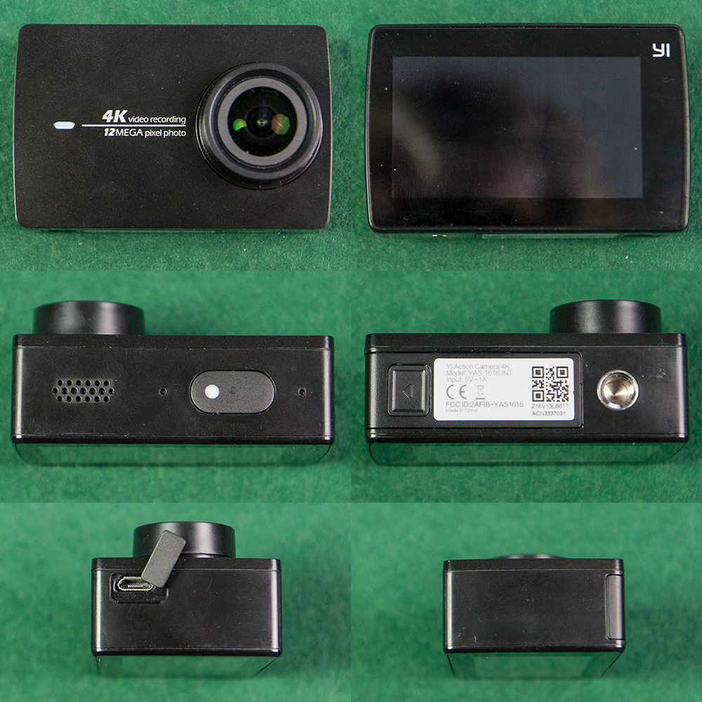 Yi Action Camera 2 from all sides
