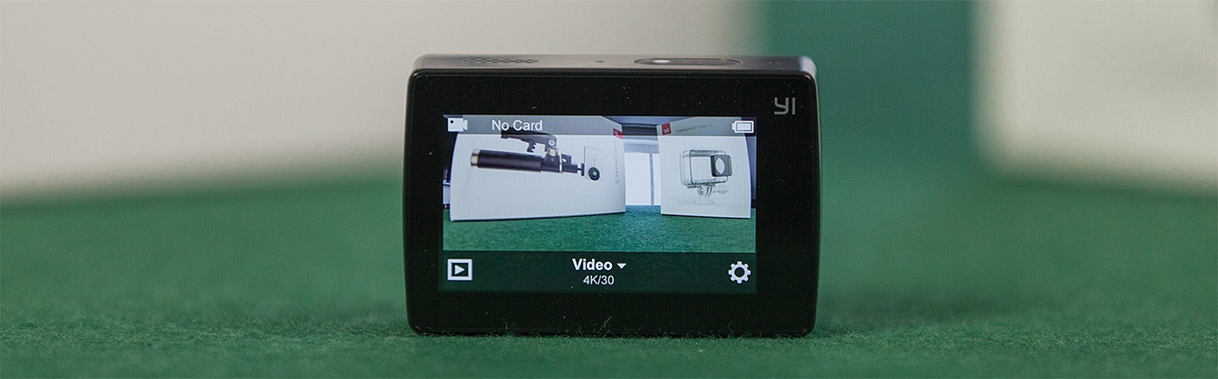 "Yi Action Camera 2 - ""Home Screen"""