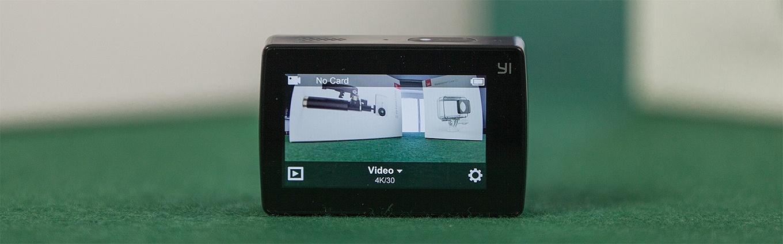"""Yi Action Camera 2 - """"Home Screen"""""""
