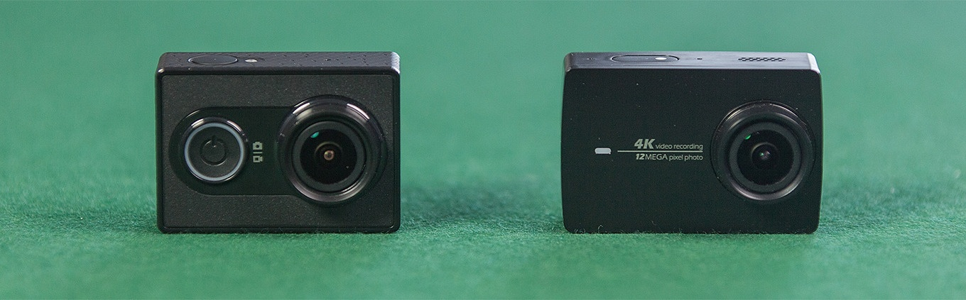 Yi Action Camera vs Yi Action Camera 2