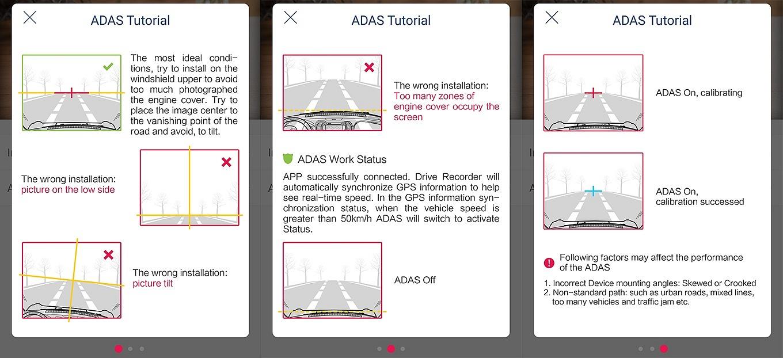 Xiaomi YI Dash Camera - ADAS Setup