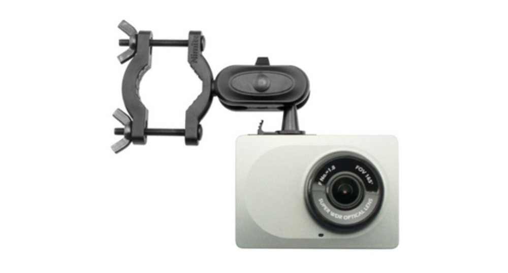 YI dash camera - rear mirror mount
