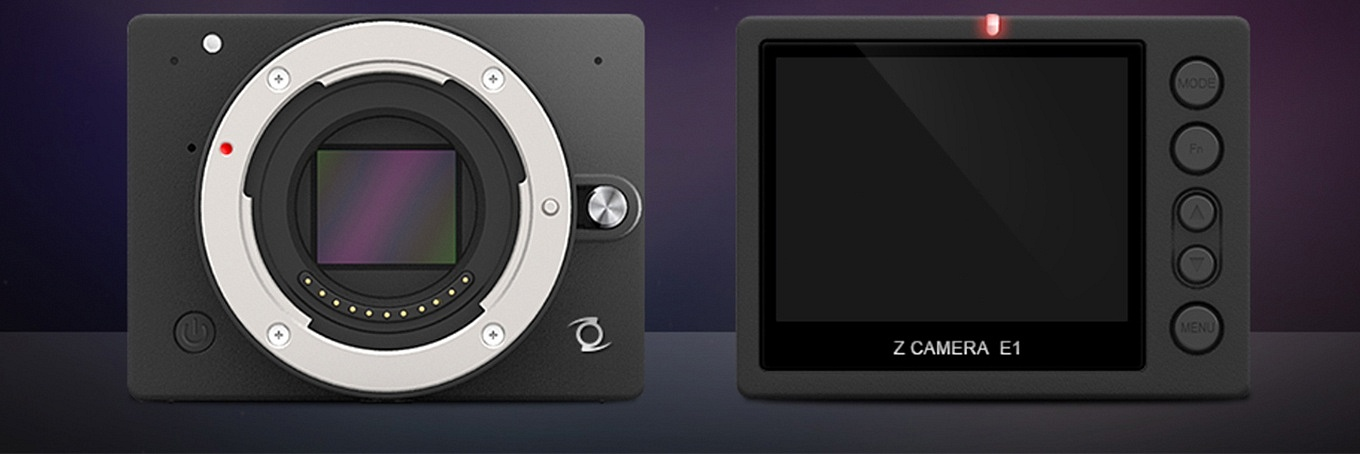 Z1 Camera E1 with display