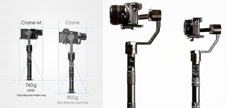Zhiyun Crane-M vs Zhiyun Crane