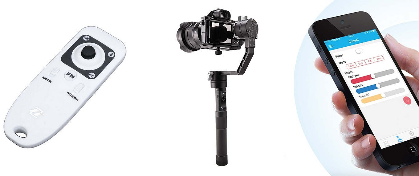 Zhiyun Crane - Wireless Control via Remote or App