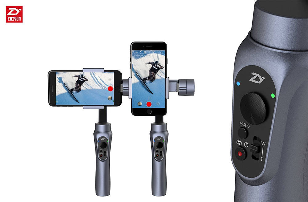 Zhiyun Smooth Q - Shooting Modes & Buttons