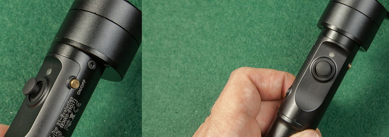 Zhiyun Z1-Evolution buttons and ports
