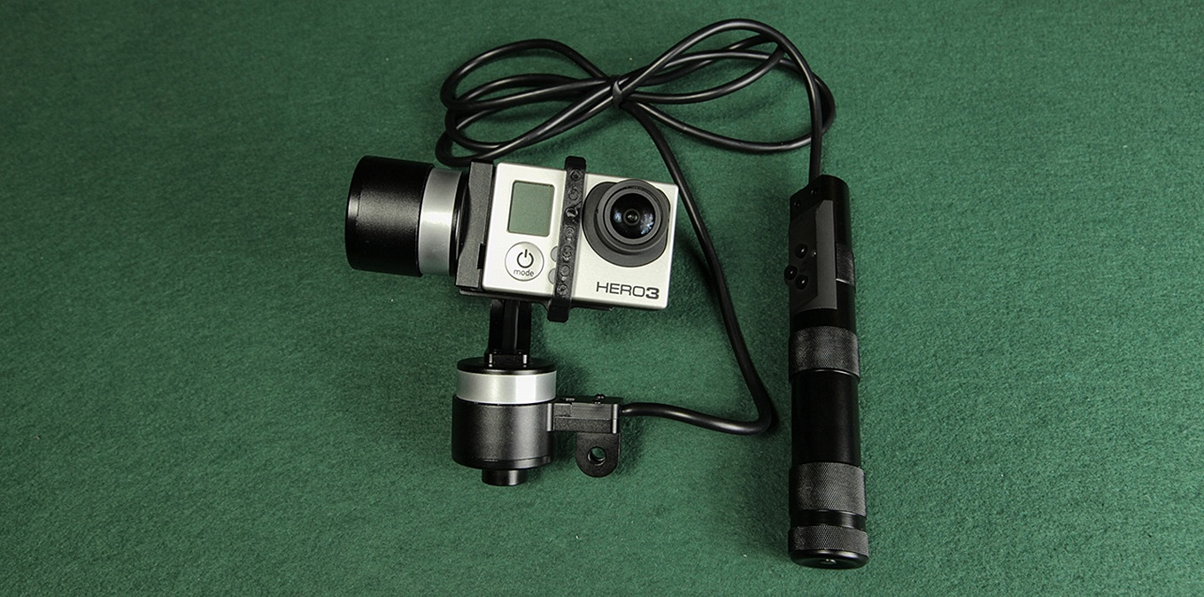 Zhiyun Z1-Rider2 with GoPro Hero 3 black edition