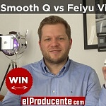 Giveaway: WIN Zhiyun Smooth Q vs Feiyu Vimble C