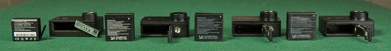 YI Discovery vs YI Lite vs YI 4K vs YI 4K+ - Battery