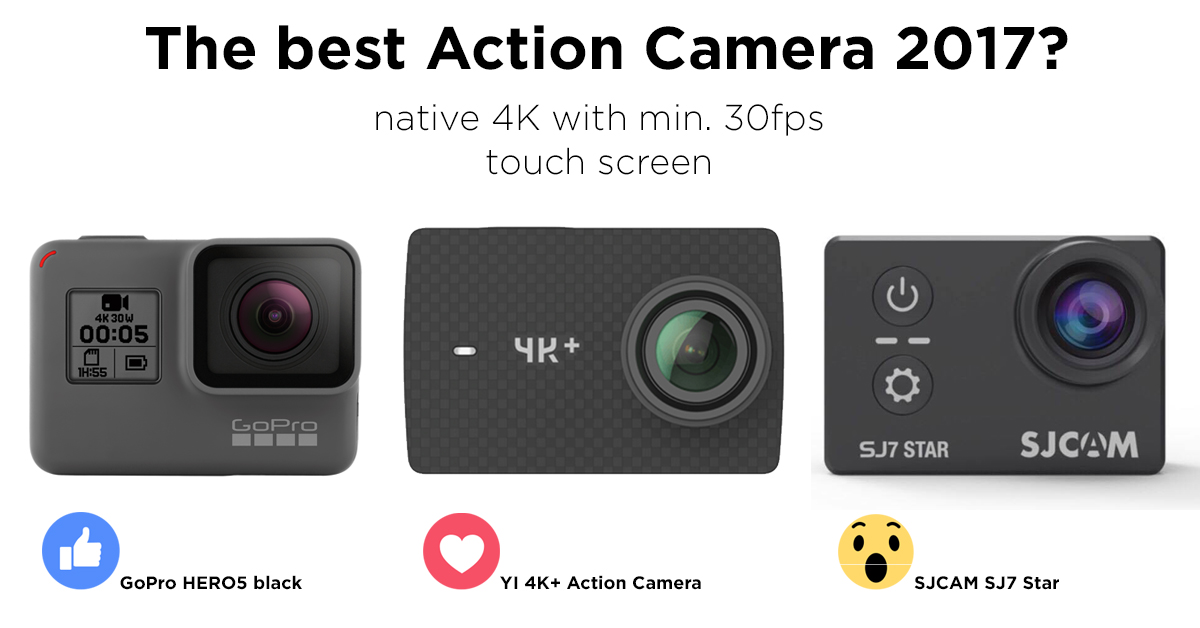 The Best 4k Action Camera 2017 El Producente